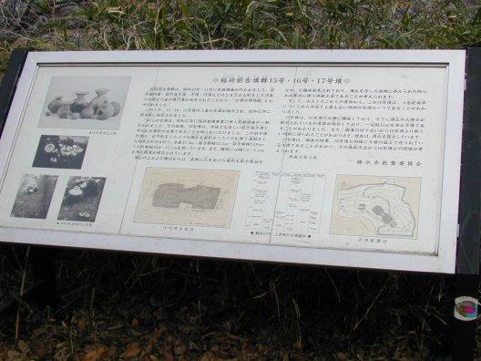 あおば百景: 開発に残る稲荷前古墳群の丘